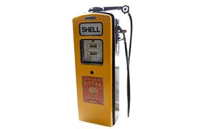 Pompe à essence vintage Shell