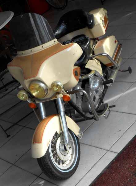 Harley Davidson Electrique Enfant