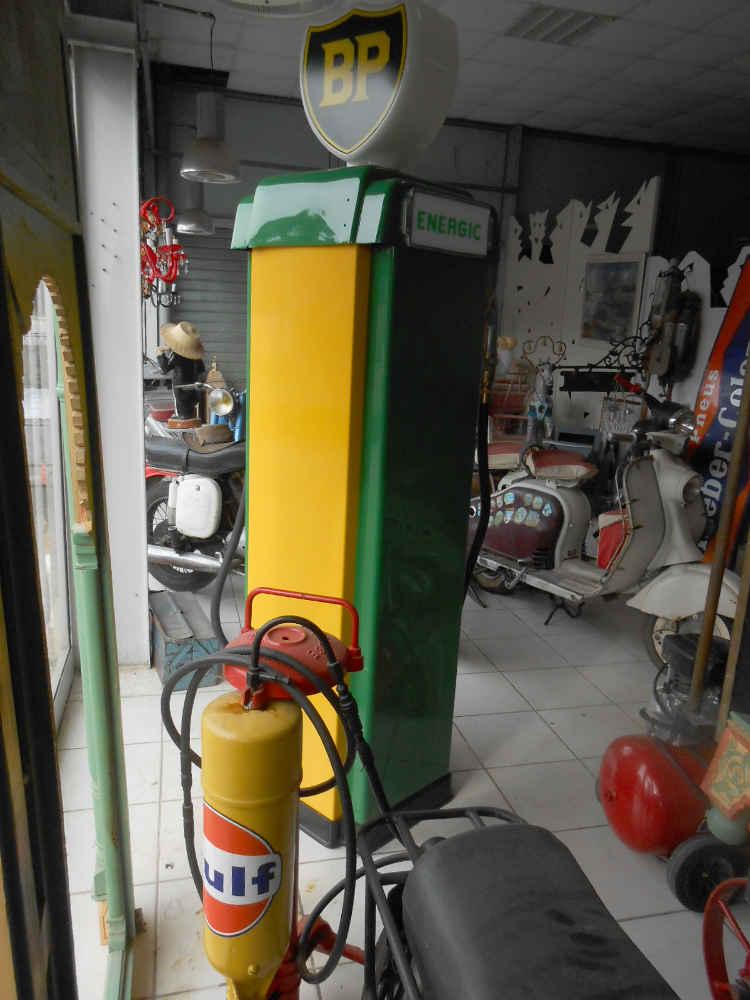 pompe à essence BP