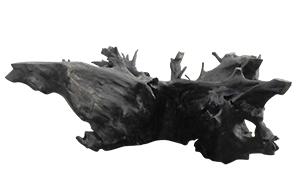 Racine d'ébène bois flotté (piétement pour table de 3 m)