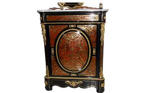 Meuble Coffre-fort Style Boulle Napoléon lll à vendre chez Curiosités et Passions à Cogolin