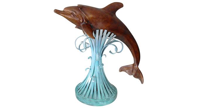 objets, dauphin, vintage, Daniel MONIC, art, déco, curiosités et passions à Vendre à Cogolin