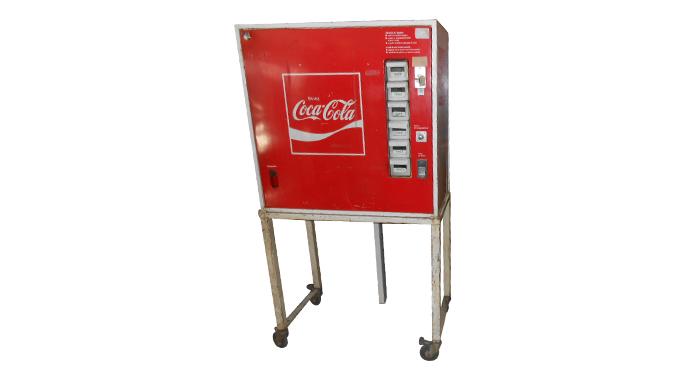 Ancien distributeur à Coca Cola