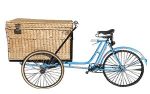 Vélo triporteur de boulanger à vendre à Cogolin