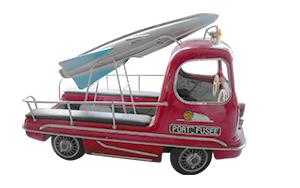 Camion de manège porte-fusée