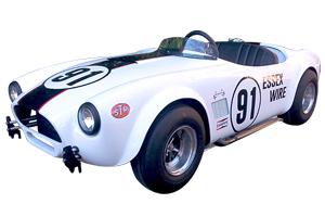Voiture Ford Cobra. Moteur Thermique